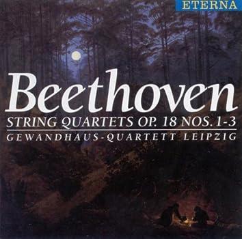 BEETHOVEN, L. Van: String Quartets Nos. 1-3 (Gewandhaus Quartet)