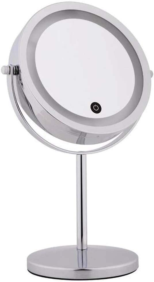 LIMEI-ZEN Bathroom Mirrors Lighted Fees free!! Makeup - Max 55% OFF Double Mirror Si LED