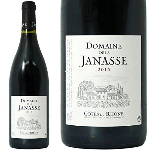 ドメーヌ ド ラ ジャナス コート デュ ローヌ ルージュ 2015 正規品 赤ワイン 辛口 750ml