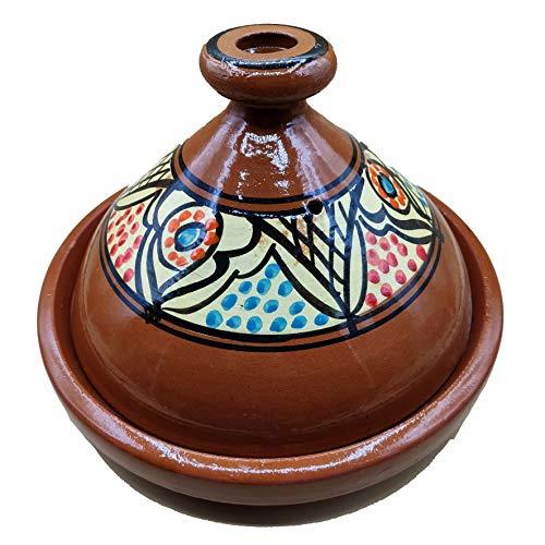 Ethnico Tajine Terracotta-Teller, marokkanisch, 35 cm, 1801201009