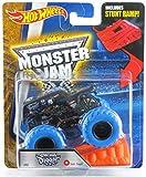 Hot Wheels Monster Jam 2016 #02 Color Treads Series Son-uva Digger with Bonus Stunt Ramp