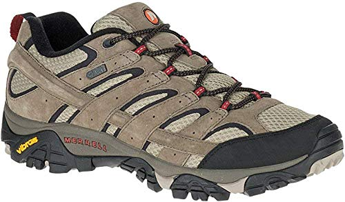 Merrell mens Moab 2 Wp Hiking Shoe, Bark Brown, 11 US