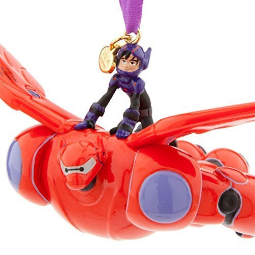 Disney Big Hero 6 Hiro and Baymax Mech Sketchbook Ornament