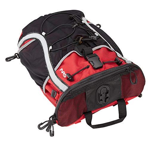 Taj M'Haul Deck Bag Red/Black 000 by Northwest River Supplies