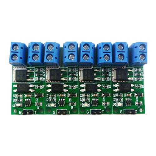 Eletechsup Hight Voltage 8A 9-24V DC Flip-Flop Latch Bistable Self-Locking Trigger Switch Module for Arduino UNO MEGA LED Motor PTZ (4)
