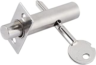 Kast deurslot Onzichtbare insteekdeurslot Iron Pipe Well Lock Fire Deur Escape Aisle Lock Hardware-accessoires Slijtvast e...