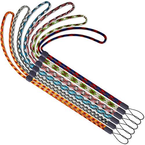 ネックストラップ 調整可能な長さ 6 本入携帯すとらっぷ 首かけ ストラップ 首かけ 携帯 ネックストラップ