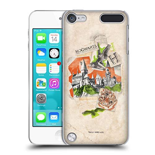 Head Case Designs Licenciado Oficialmente Harry Potter Hogwarts Reliquias de la Muerte XXI Carcasa rígida Compatible con Apple iPod Touch 5G 5th Gen