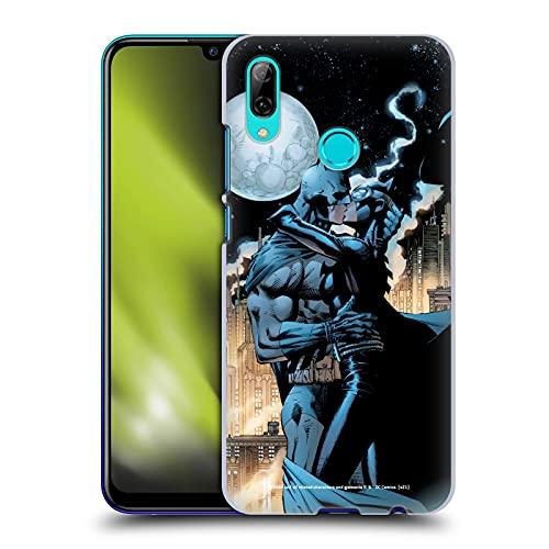 Head Case Designs sous Licence Officielle Batman DC Comics #610 Catwoman Baiser Hush Coque Dure pour l'arrière Compatible avec Huawei P Smart (2019)