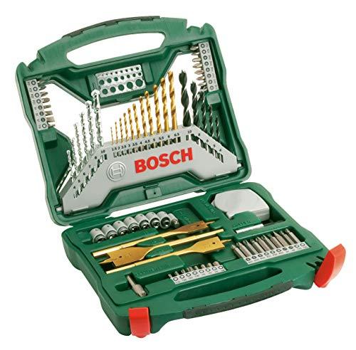 Bosch Maletín X-Line con 70 unidades para taladrar y