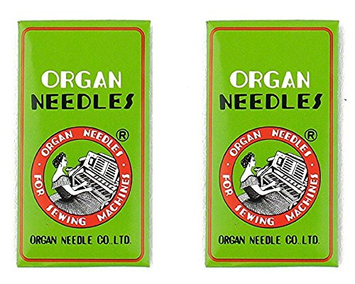 Organ Needles for JUKI and JANOME Quilting Machines (14-16)