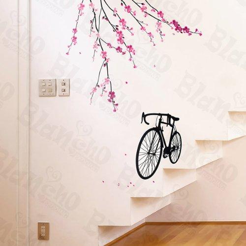 Vélo et fleurs 2 – Patchs à XL Stickers muraux Stickers Home Decor