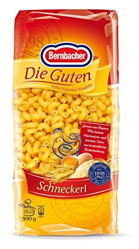 Bernbacher Eiernudeln Die Guten 500g - Schneckerl (1 x 500 g)