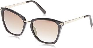 Swarovski Oval SK015248G54 Shiny Dark Brown / Brown Mirror