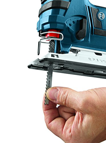 Product Image 4: BOSCH 18-Volt Lithium-Ion Cordless Jig Saw Bare Tool JSH180B,Blue