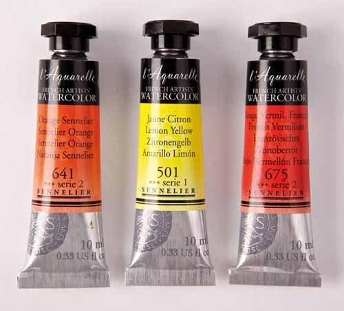 Sennelier l'Aquarelle Watercolor Tubes 10ml - Alizarin Crimson Lake 10ml Tube