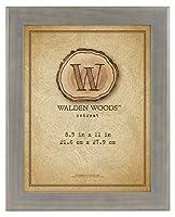 MCS Walden Woods 8.5x11 Inch Essentials Wide Frame Gray (45884) [並行輸入品]