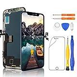 Yodoit Pantalla para iPhone XS Display (5.8 Pulgadas) reemplazo de Pantalla, LCD Negro y digitalizador con Herramientas de reparación