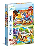 Clementoni - Puzzle 2 x 20 Piezas Winnie The Pooh (24742)