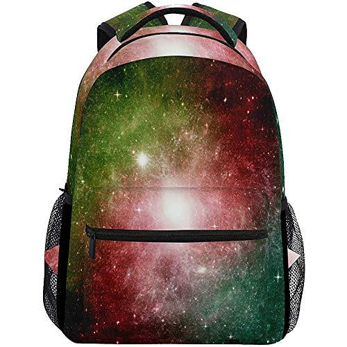 Precious Meet Spiral Stars Planet Galaxy Sacs à Dos Space Cosmic Universe Book Bag Casual Waterproof Laptop Backpack Lightweight