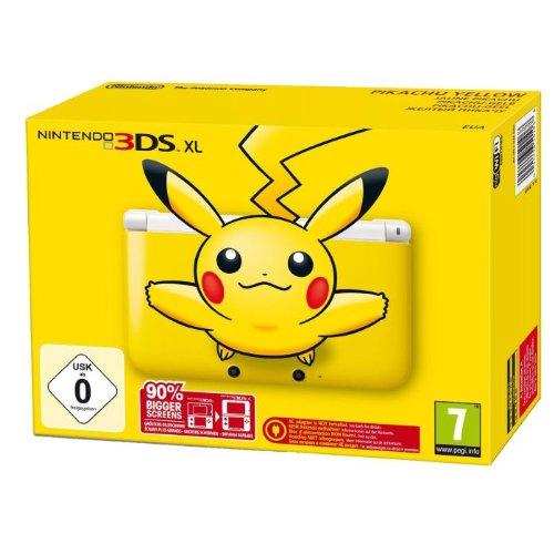 Nintendo Handheld Console 3Ds Xl - Pikachu Yellow: Limited Edition [Importación Inglesa]