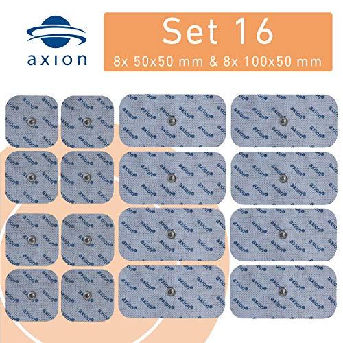 16er Misch-Set Elektroden-Pads - passt zu EMS- & TENS-Geräten von Sanitas & Beurer