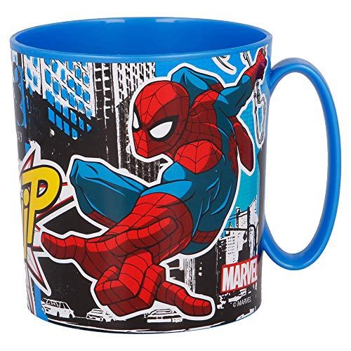 Stor Tasse Micro 350 ml Spiderman Streets, Einzigartig, Standard