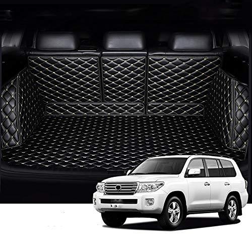 Cuero Maletero Del Coche Esteras Fit For Los Toyota Land Cruiser 200 5 Asientos De Automóviles Espe
