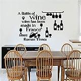 wandaufkleber baby Eine Flasche Wein Wein wurde in römischer Zeit für die Küche Dining Room Bar hergestellt