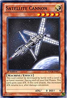 Yu-Gi-Oh! - Satellite Cannon (SDCR-EN012) - Structure Deck: Cyber Dragon Revolution - 1st Edition - Common