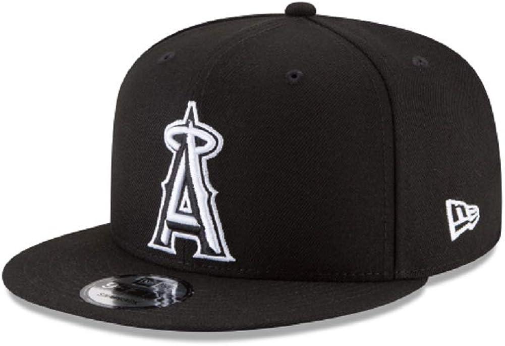 New Era Los Angeles Angels of Anaheim MLB Basic Black White 9Fifty Snapback