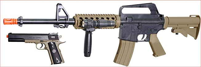 Soft Air RIS Spring Rifle and Pistol On-Duty Kit