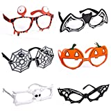 6 Pack Halloween Glasses for Halloween Costume Party...