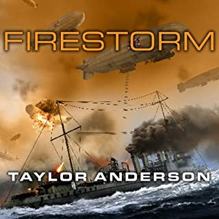 Firestorm     Destroyermen, Book 6               Written by:                                                                                                                                 Taylor Anderson                               Narrated by:                                                                                                                                 William Dufris                      Length: 17 hrs and 59 mins     1 rating     Overall 4.0
