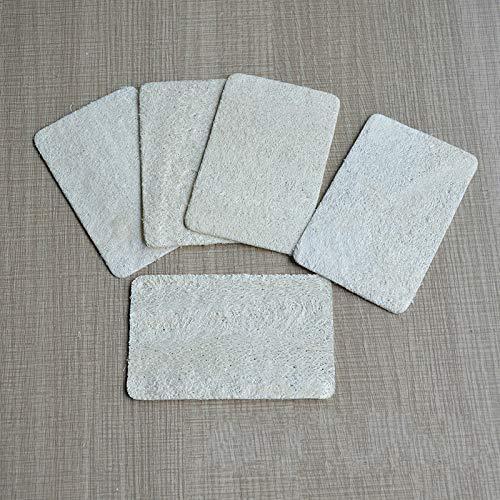SHUNHUI Natürliche Pflanze Luffa gefüllt Geschirrtuch Küche Reinigungswerkzeuge Haushalt Luffa Lappen verdickte Geschirrbürste (10 Stück)