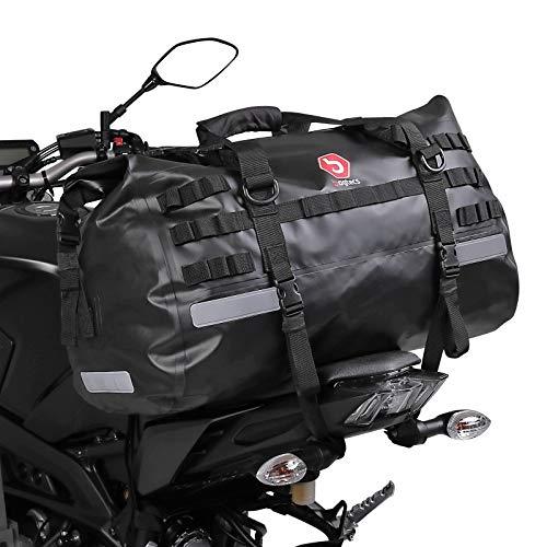 Hecktasche Drybag XB50 für Yamaha FZ1 / Fazer, FZ6 / S2 / Fazer / S2, FZ8, MT-03, MT-07 / Tracer 700, MT-09 / Tracer 900, MT-10, TDM 900, Tenere 700, XJ6 / Diversion/F, XJR 1300, XSR 900/700