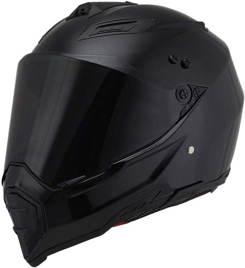 Woljay Dual Sport Off Road Motorcycle Dirt Bike Helmet Ranking TOP4 ATV Max 66% OFF D.O.T