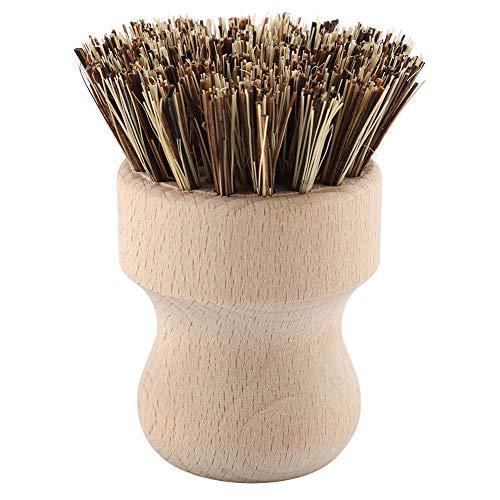 Flaschenbürsten zum Reinigen von Gemüse Natürliche und umweltfreundliche Bürste Bodenreinigungsbürste Teppichreinigungsbürste Buche Sisal Seidentopf Waschbecken Reinigungsbürste Geschirr