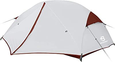 Bessport 3 and 2 Person Backpacking Tent Lightweight, Easy Setup 3 Season Camping Tent -Two Doors, Waterproof, Anti-UV Lar...