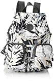 Kipling Firefly Up, Mochilas para Mujer, Multicolor (Urban Palm), 22x31x14 cm