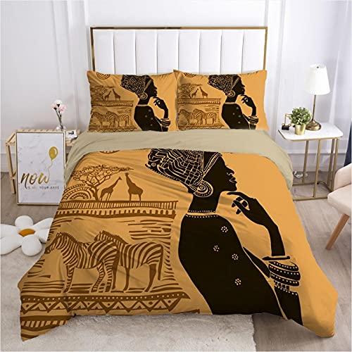 dsgsd copripiumino Affresco egitto donna 200x200 cm Stampa Set biancheria da letto Copripiumino / Copripiumino Lenzuolo Federe Lenzuola Tessili per la casa