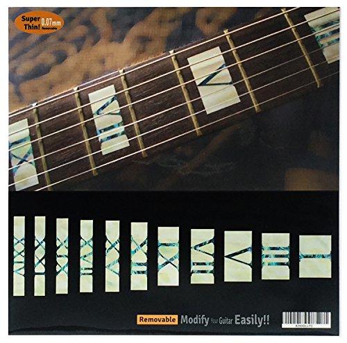 Old Torch MX Autocollant incrust/é pour guitare sur le th/ème de lormeau
