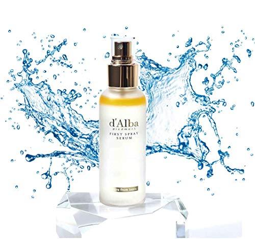 D'Alba Piedmont White Truffle First Spray Serum, 100 ml, Pack de 1