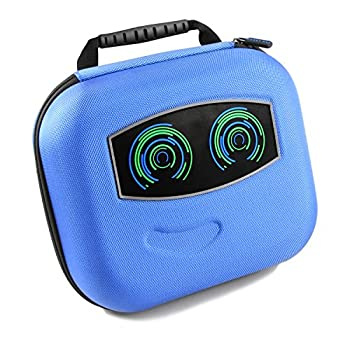 Casematix Robot Box Case Compatible with Cozmo Smart Robot  Limited Edition Interstellar Blue  Charger  Power Cubes and More Accessories ,The Fun Way to Protect and Keep Cozmo Bot Safely Organized