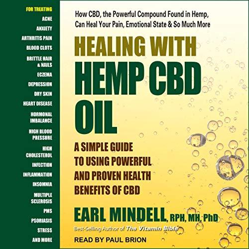 Couverture de Healing with Hemp CBD Oil