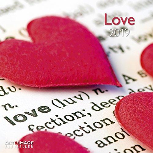 Love 2019: Wandkalender Art & Image