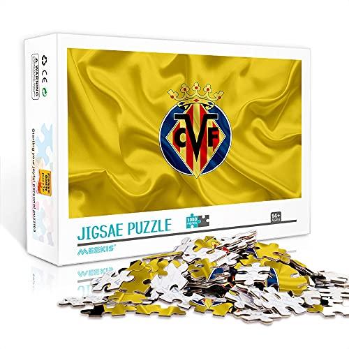 Villarreal CF Jigsaw Puzzles 1000 Piezas Juego De Rompecabezas De Descompresión Family...