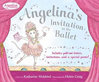 Angelina's Invitation to the Ballet (Angelina Ballerina)