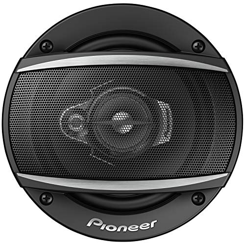 Pioneer TS-A1370F 3-Weg-Koaxiallautsprecher (300 W), 13 cm, kraftvoller Klang, IMPP-Membran für optimalen Bass, 50 W Kontinuierliche Ausgangsleistung, schwarz, 2 Lautsprecher