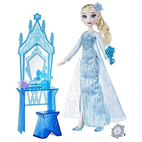 Disney C0453ES0 Frozen - Muñeca tocador día de la coronación de Elsa